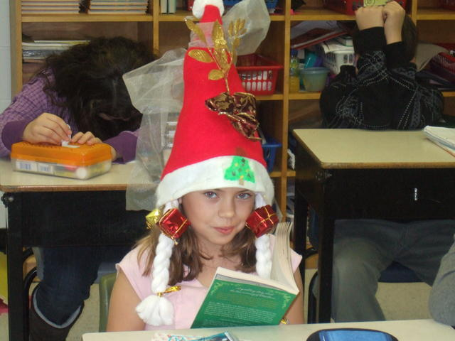 christmas hat – Irwin Memorial Public School