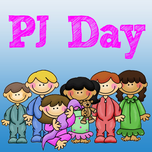 Image result for pajama day clip art